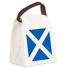Flag of Scotland Canvas Lunch Bag