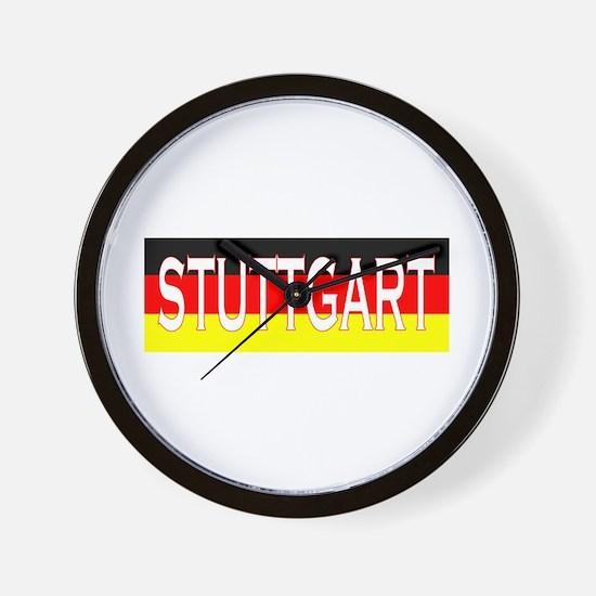 Stuttgart, Germany Wall Clock