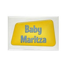 Baby Maritza Rectangle Magnet