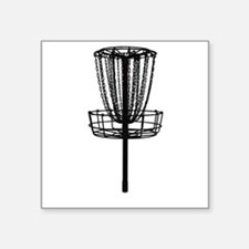 Disc Golf Basket Sticker