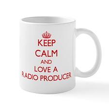 Keep Calm and Love a Radio Producer Mugs