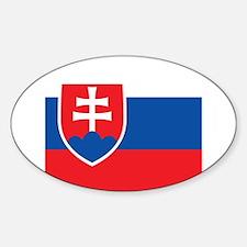 Flag of Slovakia Decal