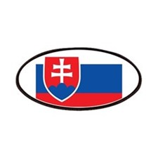 Flag of Slovakia Patches