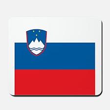 Flag of Slovenia Mousepad