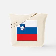 Flag of Slovenia Tote Bag