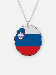 Flag of Slovenia Necklace