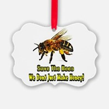 Save The Honey Bees Ornament