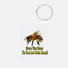 Save The Honey Bees Keychains