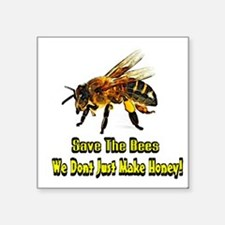 Save The Honey Bees Sticker