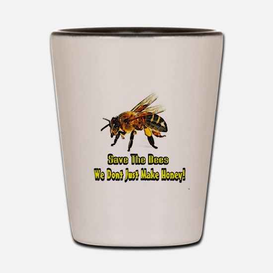 Save The Honey Bees Shot Glass