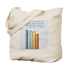 Tea and Books Tote Bag