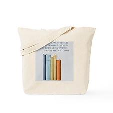 Tea and Books Tote Bag