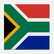 Flag of South Africa Tile Coaster