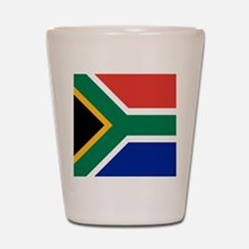 Flag of South Africa Shot Glass