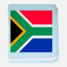 Flag of South Africa baby blanket