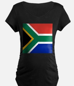 Flag of South Africa Maternity T-Shirt