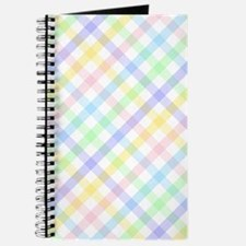 Pastel Plaid Journal