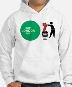 Keep London Tidy - Arsenal is Rubbish Hoodie