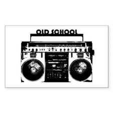 Vintage Boom Box Decal
