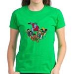 Captain Planet And The Planeteers Women's T-Shirt