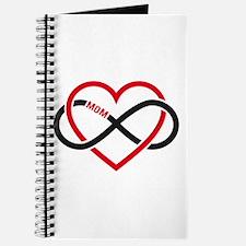 Mom infinity heart, never ending love Journal