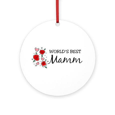 WB Mom [Breton] Ornament (Round)