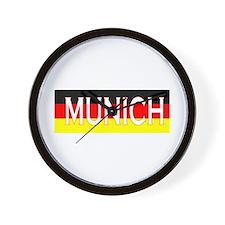 Munich, Germany Wall Clock