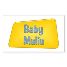 Baby Malia Rectangle Decal
