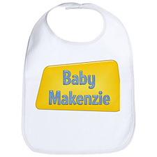 Baby Makenzie Bib