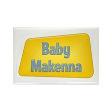 Baby Makenna Rectangle Magnet