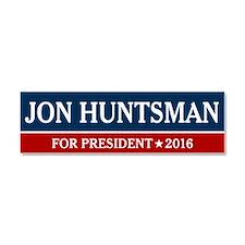 Jon Huntsman For President 2016 Car Magnet 10 x 3