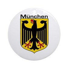 Munich, Germany Ornament (Round)