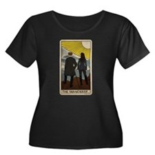 Lost Girl Wanderer Tarot Women's Plus Size T-Shirt