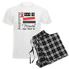 May is Vasculitis Awareness Mnth Pajamas
