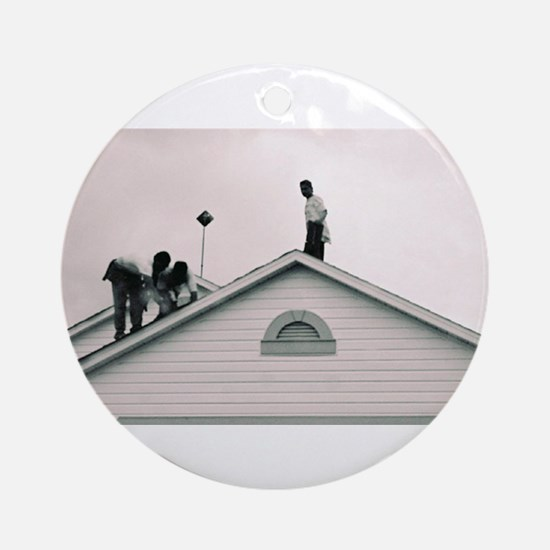 New Roofs Ornament (Round)