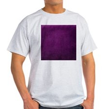 Purple suede texture T-Shirt