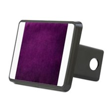 Purple suede texture Hitch Cover