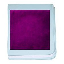 Purple suede texture baby blanket