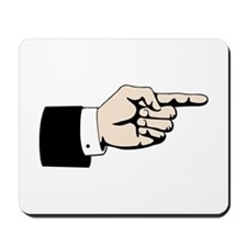 Poointing Male Hand Mousepad