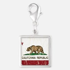 California Republic Distressed Flag Charms