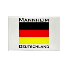Mannheim, Germany Rectangle Magnet