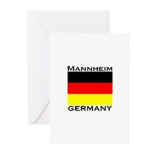 Mannheim, Germany Greeting Cards (Pk of 10)