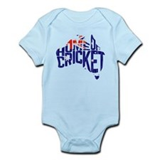 Australia Home of Cricket Map Body Suit