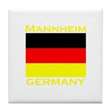 Mannheim, Germany Tile Coaster