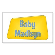 Baby Madisyn Rectangle Decal