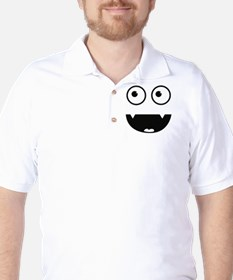 Funny Vampir Monster Golf Shirt