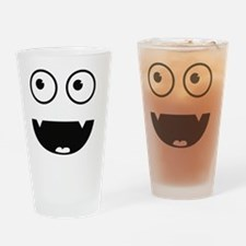 Funny Vampir Monster Drinking Glass