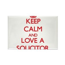 Keep Calm and Love a Solicitor Magnets