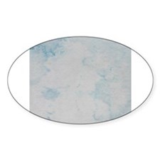 Blue cloud image Decal