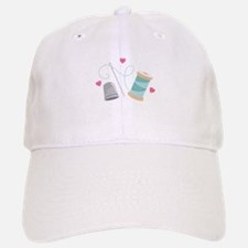Heart Sewing supplies Baseball Baseball Baseball Cap